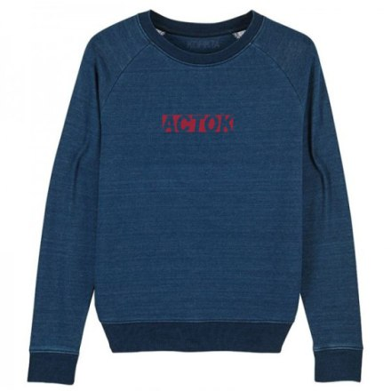SALE DENIM ACTOK SWEATSHIRT