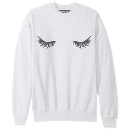 EYELASHES SWEATSHIRT