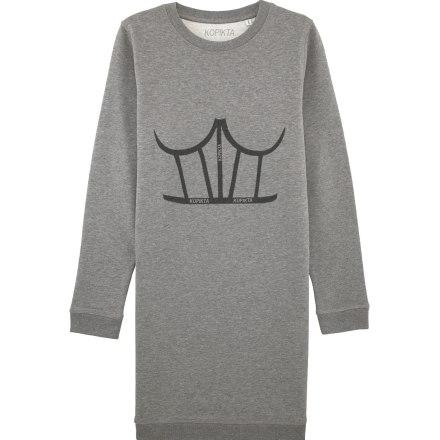 SWEATSHIRT DRESS CORSET
